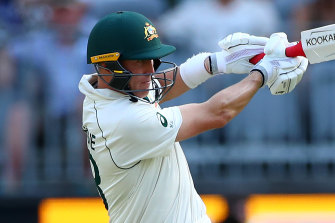 Marnus Labuschagne strokes his way to a third century in as many Test matches on Thursday.