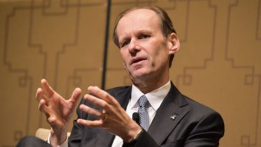ANZ boss Shayne Elliott says it's a 'tough' revenue environment for banks at the moment.