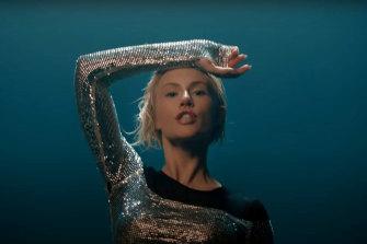 Elena Tsagrinou sings El Diablo in the official music video for Cyprus' entry into Eurovision 2021.