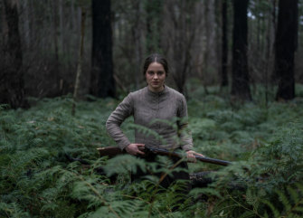Aisling Franciosi as Clare in The Nightingale. Jennifer Kent's film has picked up 15 AACTA nominations.