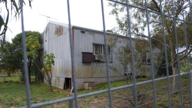 Many properties in the zone have been locked away after Landcorp purchased them.