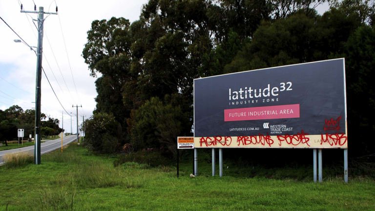 The Latitude 32 development.