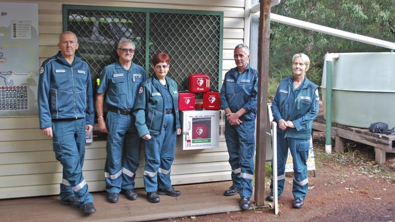 Pinjarra paramedics work in conjunction with four nearby volunteers based in Dwellingup.