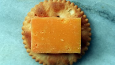 Jatz takes the biscuit prize ... but what is it without the assistance of cheese?