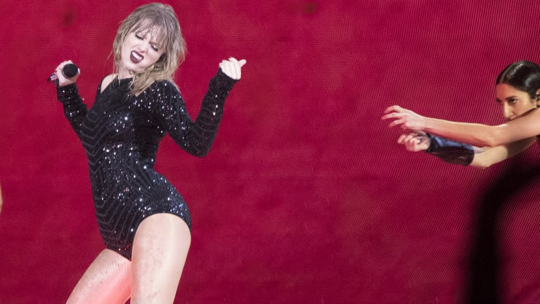 The show was Swift's first in Sydney in three years.