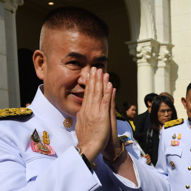 Thai politician Thammanat Prompao spent four years in jail in Sydney over a heroin importation.