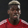 Club record signing Paul Pogba is in rare form for Premier League leaders Manchester United.
