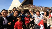 Australia's tourism industry has become increasingly reliant on Chinese tourists.