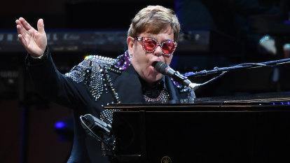 Energy and emotion as Elton John makes his long final lap
