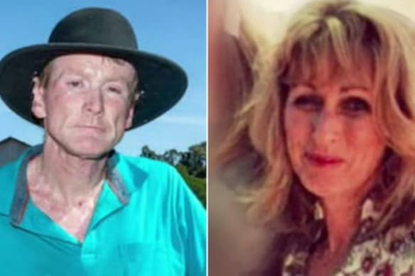 Rod and Janice Croft. Mrs Croft died in hospital after suffering a medical episode following a police-stand off at their Perth Hills property.