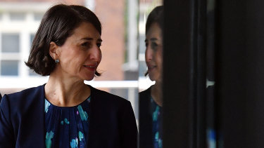 NSW Premier Gladys Berejiklian has asked shoppers to minimise their need to attend Boxing Day sales amid the spread of COVID-19.
