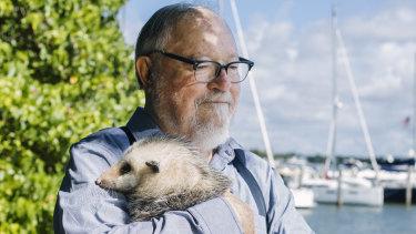 Thomas Harris is a regular helper at a wildlife sanctuary near his home in Miami.