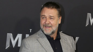 Russell Crowe's new film is set to relaunch cinemas in the US.