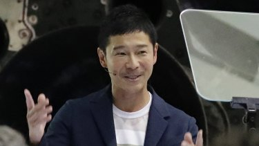 Japanese billionaire Yusaku Maezawa will be the first private passenger on a trip around the moon.