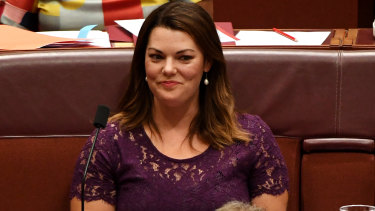 "Greens Senator Sarah Hanson-Young said a one-touch system would ""put our environment and wildlife at risk""."
