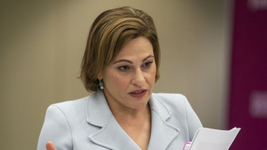 Jackie Trad came under fire over a contentious Woolloongabba property.