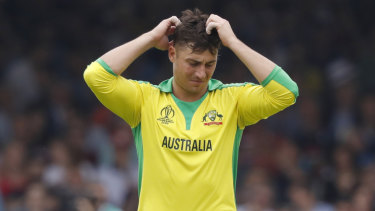 Marcus Stoinis failed to fire at the 50-over World Cup.