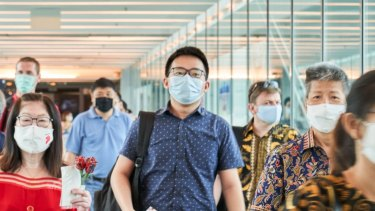 People who have been in the UK in the past 14 days will not be able to transit through Singapore's Changi Airport.