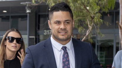 Jarryd Hayne had 'terrible' sexual prowess but didn't assault woman, jury told