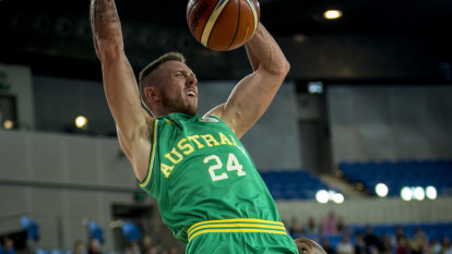 Boomers top World Cup qualifying group after seeing off Kazakhstan