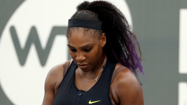 Serena Williams won upon her return to the WTA tour.