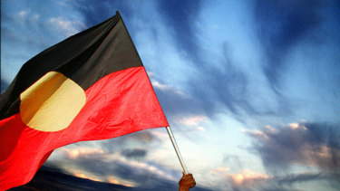 Indigenous artist Harold Thomas holds the copyright for the design of the Aboriginal flag and must approve its use.