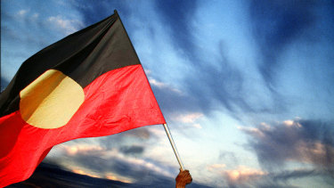Delicate negotiations are under way on copyright issues linked to the Aboriginal flag.