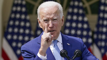 President Joe Biden announced new measures to tackle gun violence on Friday (AEST)