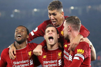 Liverpool's push for a drought-breaking Premier League title could resume early next month.