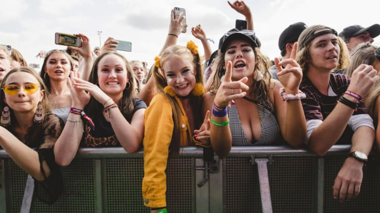 Groovin The Moo 2018 was the University of Canberra's sixth year hosting the event.