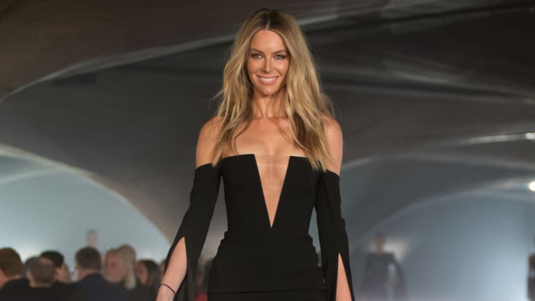 Jennifer Hawkins, set to walk away from her 12-year, multi-million deal with Myer.