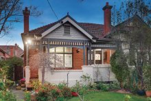 The two-bedroom single-fronted home at 124 Riversdale Road, Hawthorn, VIC, sold after auction for $1.72 million.