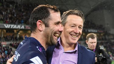 Craig Bellamy believes Cameron Smith will still be at the Storm after he retires.