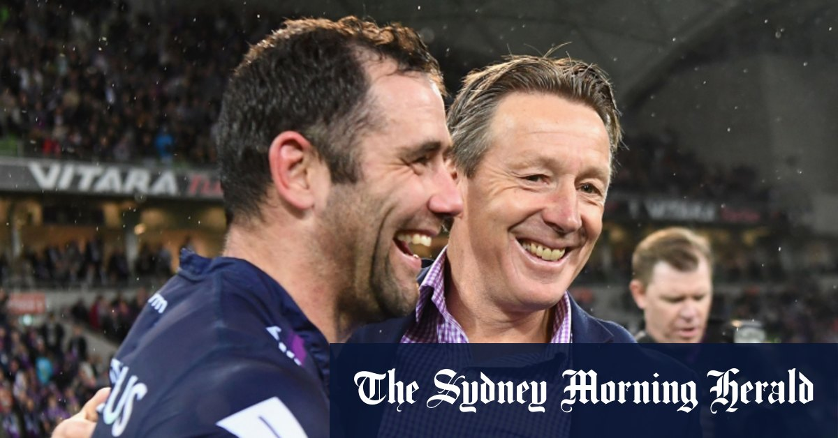 Cameron Smith reveals he only wants to play under Craig Bellamy – Sydney Morning Herald
