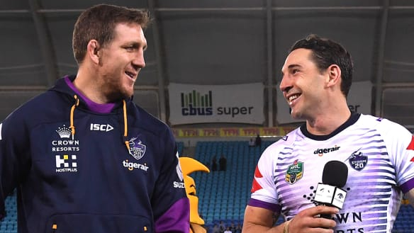 "Ryan Hoffman says Billy Slater decision is a ""flip of a coin"""