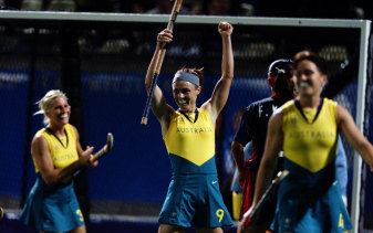 The Hockeyroos were far too good for China and booked a spot in the gold medal match.