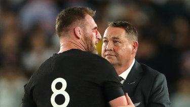 Kieran Read (left) and Steve Hansen will both be contesting their final matches for New Zealand on Friday.