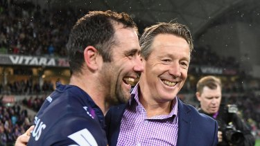 Gathering Storm ... Cameron Smith  and Craig Bellamy both have decisions on the horizon.