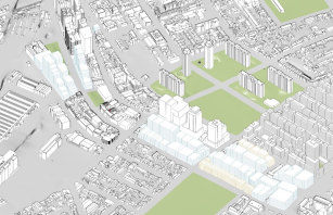 The scheme would allow taller buildings from Redfern station to McEvoy Street.
