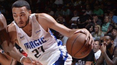 South East Melbourne Phoenix signing Kendall Stephens played with Orlando Magic in the NBA Summer League last year.