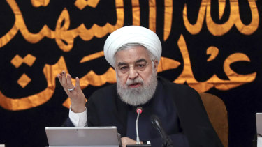 """""""From Friday, we will witness research and development on different kinds of centrifuges and new centrifuges and also whatever is needed for enriching uranium in an accelerated way,"""" Iranian President Hassan Rouhani said."""
