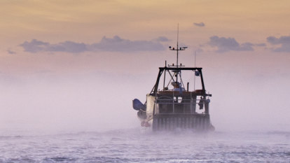 How my time on a fishing trawler helped me face my own trauma