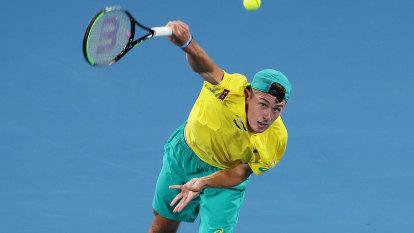 De Minaur to spearhead Australia's Davis Cup bid