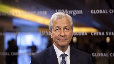 JP Morgan's Jamie Dimon is shrinking his group's balance sheet because its more attractive to sell loans than make them.