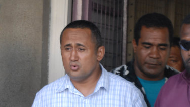 Fiji Rugby Union chairman Francis Kean, was found guilty of manslaughter in 2007, is again in hot water.