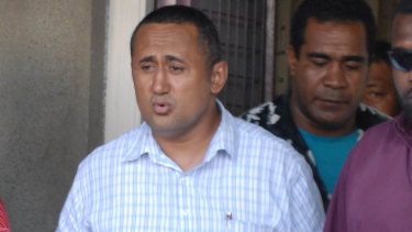 Fiji Rugby Union chairman Francis Kean was found guilty of manslaughter in 2007 after beating a man to death the previous year at a Bainimarama family wedding.