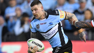 Josh Dugan still cops it from Canberra fans when playing his former club.