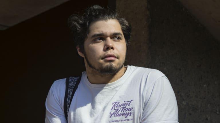Student Daniel Rodriguez