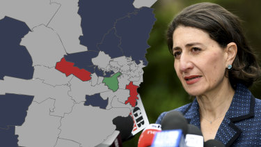 The Berejiklian government is embroiled in a sporting grants slush fund controversy, with figures showing it splashed the bulk of its $33.4 million program on Liberal electorates. Photo: AAP