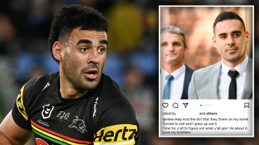 Tyrone May and the Instagram post that has again landed him in hot water.